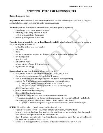 4. Appendix 1 : Example of the fact sheet form - Centre Pilote Bio