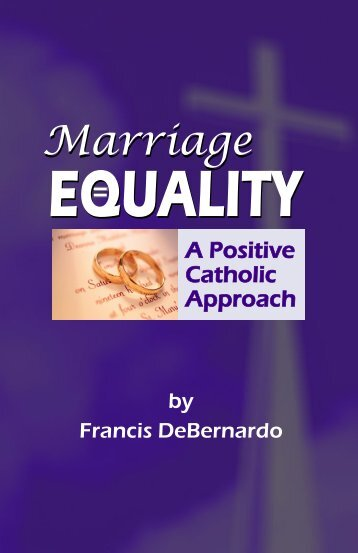 catholics on the approach to marriage