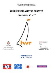 2008 IMPERIA WINTER REGATTA