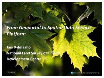 Spatial Data Service Platforms - Open Geospatial Consortium