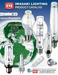 IWASAKI LIGHTING - EYE Lighting International of North America, Inc.