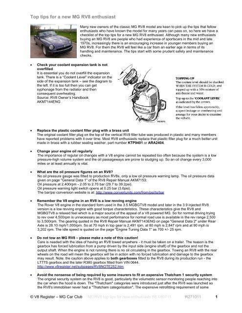 Thatcham Body repair manual Range Rover 1970