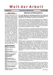 WdA April 2008 - Welt der Arbeit