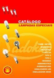 lâmpadas incandescentes especiais - Sadokin