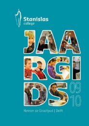 sw datum tijd AUGUSTUS 2009 36 01 Start ... - Stanislas College