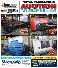 AUCTION - Maynards Industries