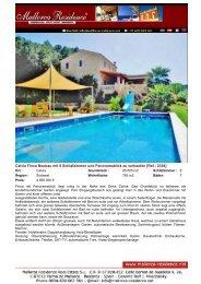 Calvia-Neu erbaute Finca mit 8 Schlafzimmer und Panoramablick zu ...