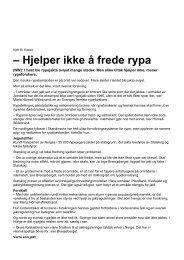 2012-11-27 Hjelper ikke å frede rypa - Statskog