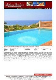 Costa de la Calma-Villa mit Meerblick und sieben Schlafzimmer ...