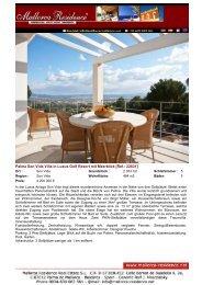 Son Vida Villa in Luxus Resort [Ref.: 22631]