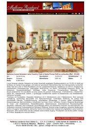 Santa Ponsa-Preisreduziertes Luxus Anwesen direkt am Golfplatz ...