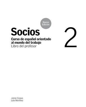Socios nueva edición 2 - Libro del profesor - PDF ... - Difusión