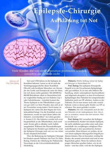 Epilepsie-Chirurgie - Pädiatrix