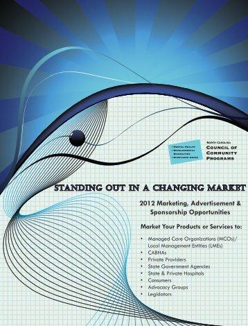 2012 Sponsorship Brochure - NC Council of Community Programs