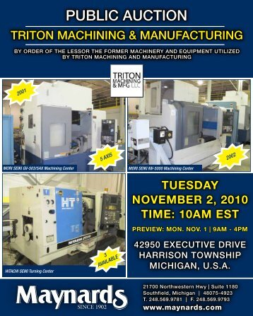 View Brochure (PDF) - Maynards Industries