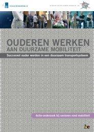 Ouderen werken rond mobiliteit - Federaal Wetenschapsbeleid