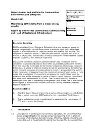 Maximising ECO Funding from a Major Energy Supplier