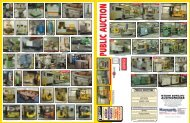 Zagora - Auction Flyer - Maynards Industries