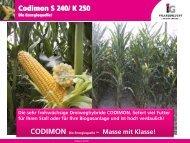Codimon S 240/ K 250 - IG Pflanzenzucht