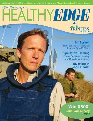 Fall 2008 - Trinitas Hospital