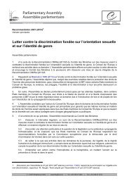 Texte adopté - Council of Europe Parliamentary Assembly