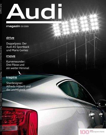 magazin 03/2009 drive Doppelpass: Der Audi A5 ... - Bagno Sasso