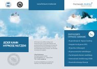 NGH-Hypnoseausbildung Deutschland - Therapeuten