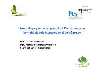 P. Walotek - baltic biomass network