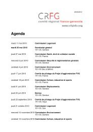 Agenda - CRFG