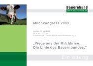 2009-05-18 Einladung Milchkongress.indd - Braunvieh Austria