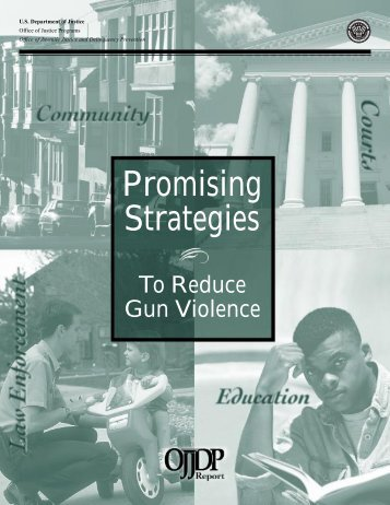 Promising Strategies To Reduce Gun Violence - Office of Juvenile ...