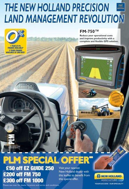 the new holland precision land management revolution