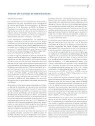 Informe del Consejo de Administración - Banco Provincial