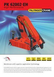 PK 62002·EH High Performance - Palfinger