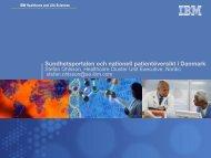 Sundhetsportalen och nationell patientöversikt i Danmark