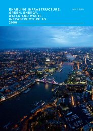 Enabling Infrastructure – Green, Energy, Water and Waste Infrastructure to 2050