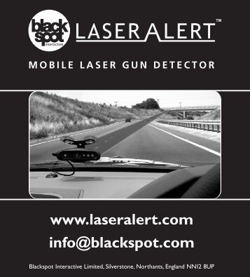 Laser Alert Complete instruction manual - Road Angel
