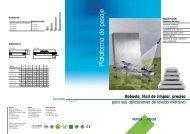 Plataforma modelo PBA429 PBA429x (3kg hasta 60kg) (PDF - 564 ...