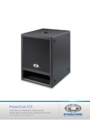 PowerSub 315 - Dynacord