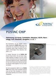 Fostac-Chip Flyer - Synergia Verlag