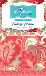 Vintage Verona - Riley Blake Designs