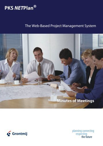 Minutes of Meeting - PKS NETPlan