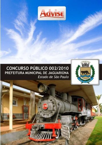 Edital de Abertura 002/2010 - Advise