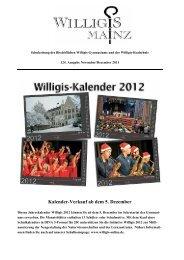 Schulzeitung November / Dezember 2011 - Bischöfliches Willigis ...
