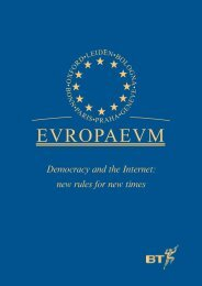 Download the Full Report - The Europaeum
