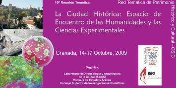 Programa - Red Tematica de Patrimonio Historico y Cultural