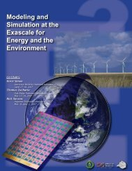 Modeling and Simulation at the Exascale for Energy - Office of Science