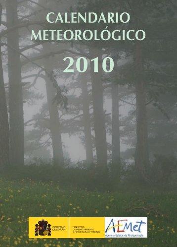 2010 - Agencia Estatal de Meteorología
