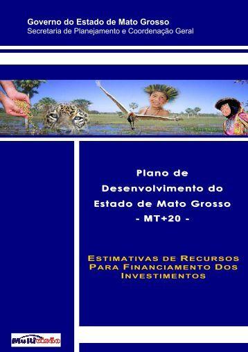 Memória de Cálculo - seplan / mt - Governo do Estado de Mato Grosso