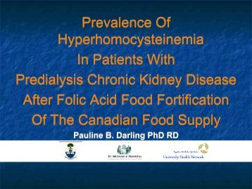 View Dr. Darling's presentation slides (pdf) - CFDR